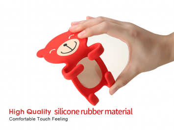 Car phone holder silicone cartoon outlet