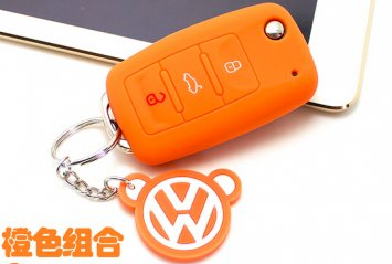 Silicone car key cover for any kinds keychain